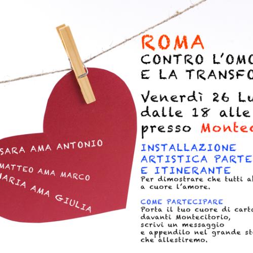 Niente compromessi sulla legge contro l'omofobia – Intervista ad Andrea Maccarrone
