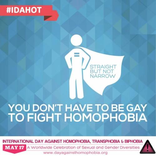 17 maggio, Giornata internazionale contro l'omofobia, la bifobia e la transfobia